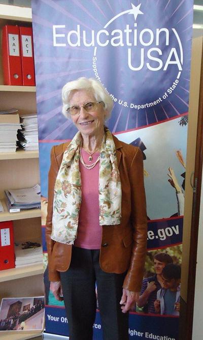 Fulbright Alumnus Stella Alderweireldt (1954-55)