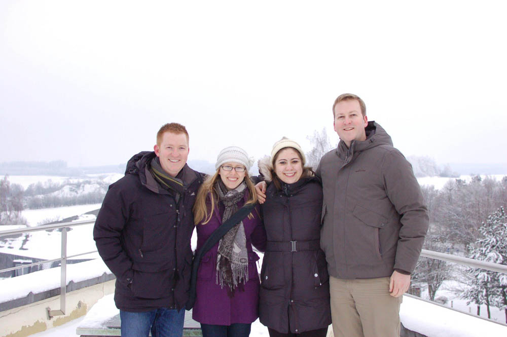 Fulbright Pairs with CIEE for Fulbrighter trip in Bastogne