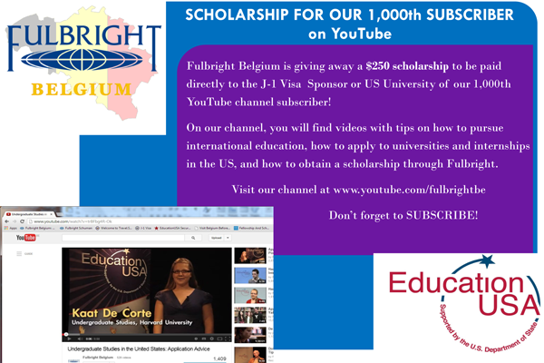 Scholarship For Our 1,000th Subscriber on YouTube