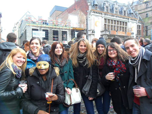 Celebrating Carnival in Belgium