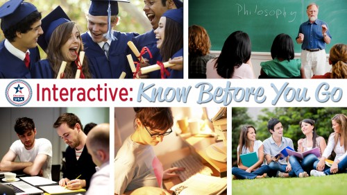 "August 13, 2014: EducationUSA Study in the USA Series: ""Know Before You Go"""
