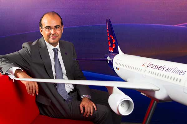 November 24, 2014: Eat and Meet with Bernard Gustin, CEO of Brussels Airlines