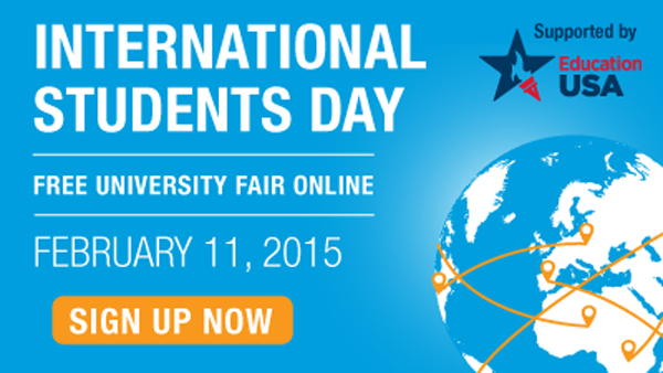 February 11, 2015: College Week Live International Students Day