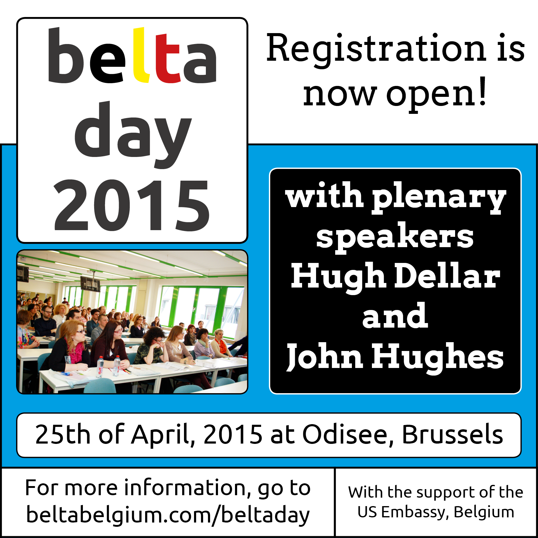 April 25, 2015: BELTA Day