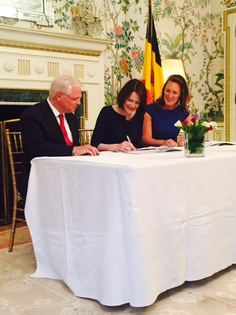 fulbright partnership agreements signing 2