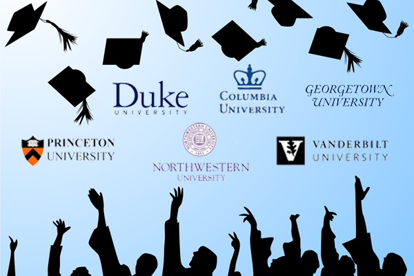 Could I get into Columbia University or Georgetown?