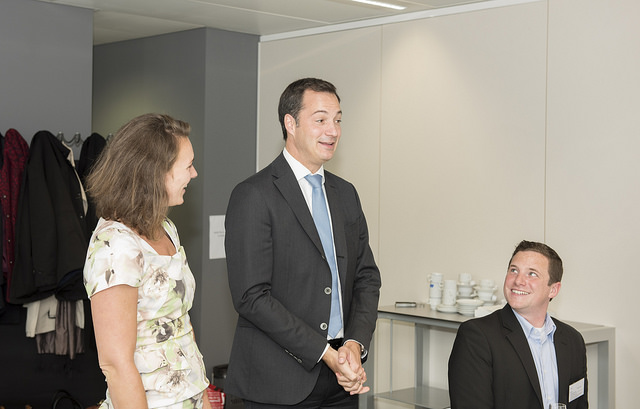Fulbright Eat and Meet with Belgian Deputy Prime Minister De Croo